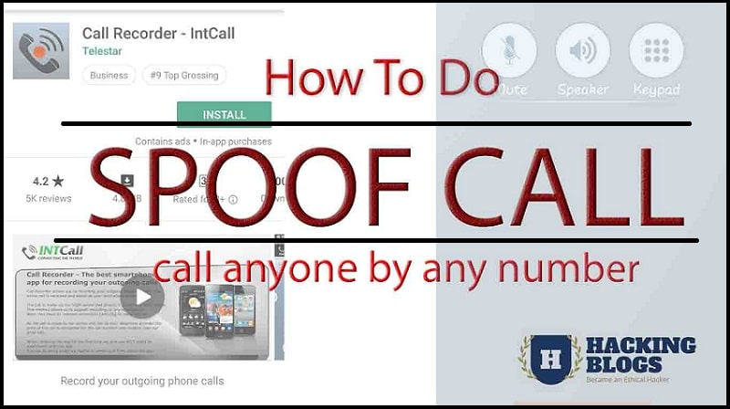 To Number Call Anyone Spoof Anyone's Hack Mobile